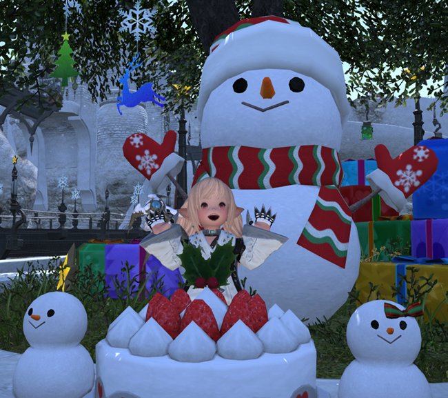Good Luck, Strawberry!: Christmas & New Year 2014