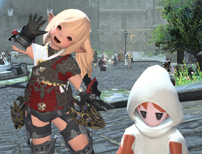 FFXIV players imitating WoW gameplay for fun - World of
